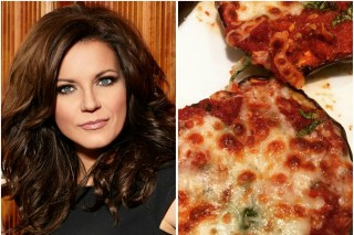 Martina McBride Shares Eggplant Pizza Recipe