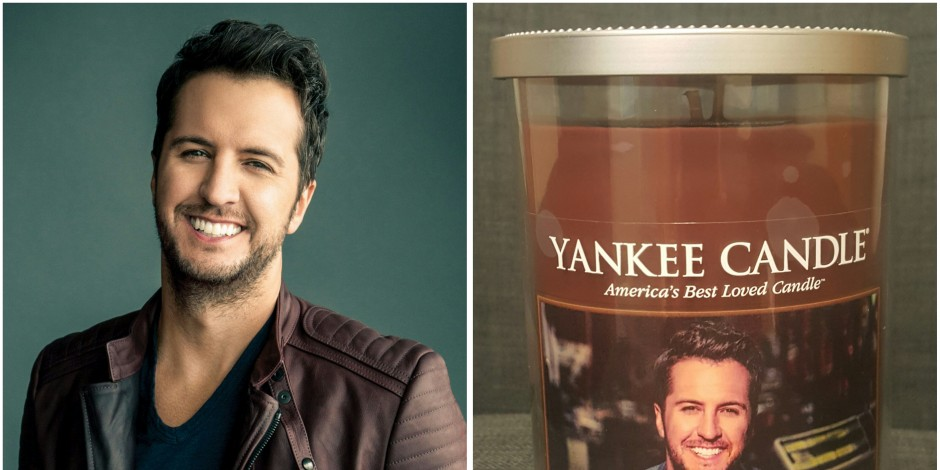 WIN: Luke Bryan Candle